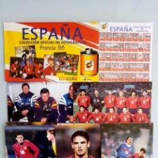 Coleccionismo deportivo: MAGIC BOX COLLECTION. - COLECCIÓN OFICIAL DE FOTOS FRANCIA 98.. + 10 FOTOS#. Lote 157843446