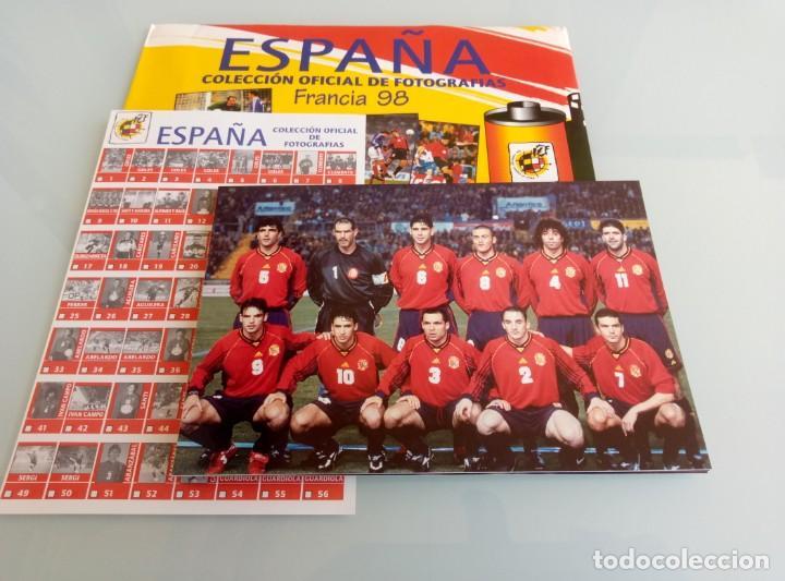 Coleccionismo deportivo: MAGIC BOX COLLECTION. - COLECCIÓN OFICIAL DE FOTOS FRANCIA 98.. + 10 FOTOS# - Foto 4 - 157843446