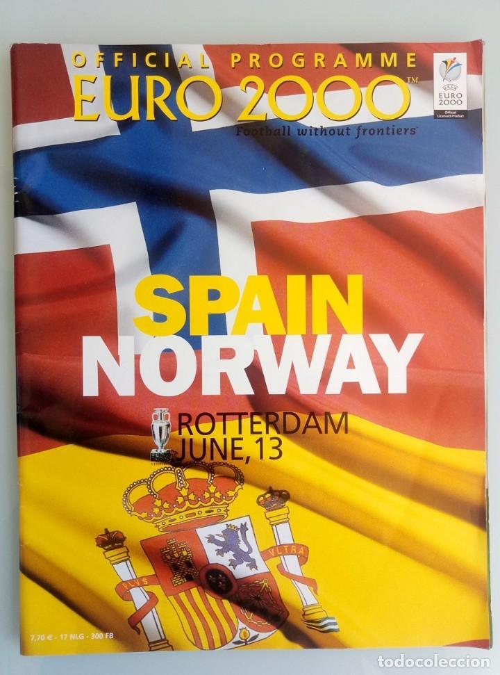 VANDYSTADT. - OFFICIAL PROGRAMME EURO 2000- # (Coleccionismo Deportivo - Libros de Fútbol)