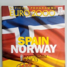Coleccionismo deportivo: VANDYSTADT. - OFFICIAL PROGRAMME EURO 2000- #. Lote 157852926
