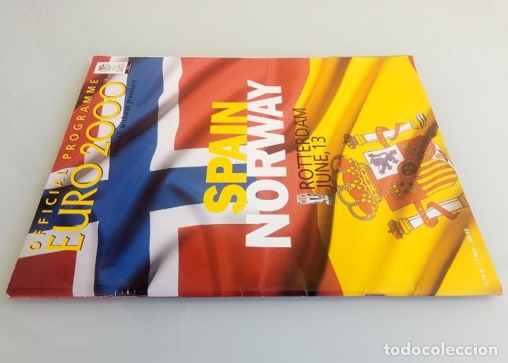 Coleccionismo deportivo: VANDYSTADT. - OFFICIAL PROGRAMME EURO 2000- # - Foto 2 - 157852926