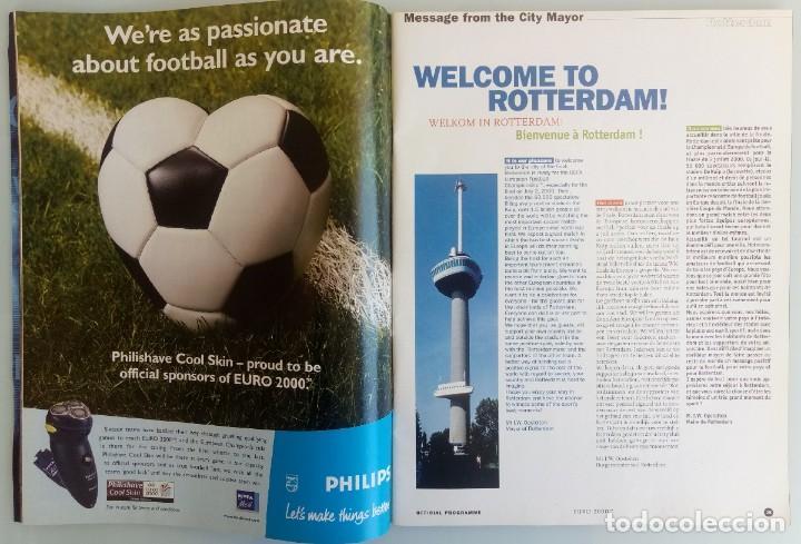 Coleccionismo deportivo: VANDYSTADT. - OFFICIAL PROGRAMME EURO 2000- # - Foto 3 - 157852926