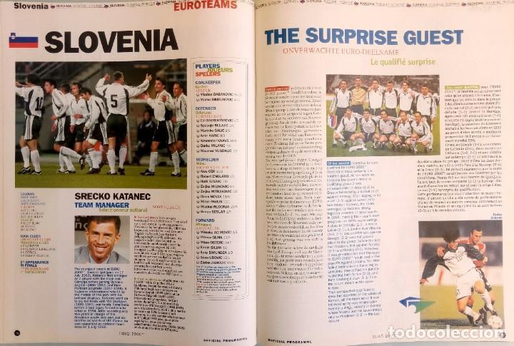 Coleccionismo deportivo: VANDYSTADT. - OFFICIAL PROGRAMME EURO 2000- # - Foto 6 - 157852926