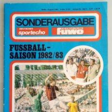 Coleccionismo deportivo: DIE NEUE FUSSBALLWOCHE (FUWO) - SONDERAUSGABE 1982/1983.#. Lote 194372700