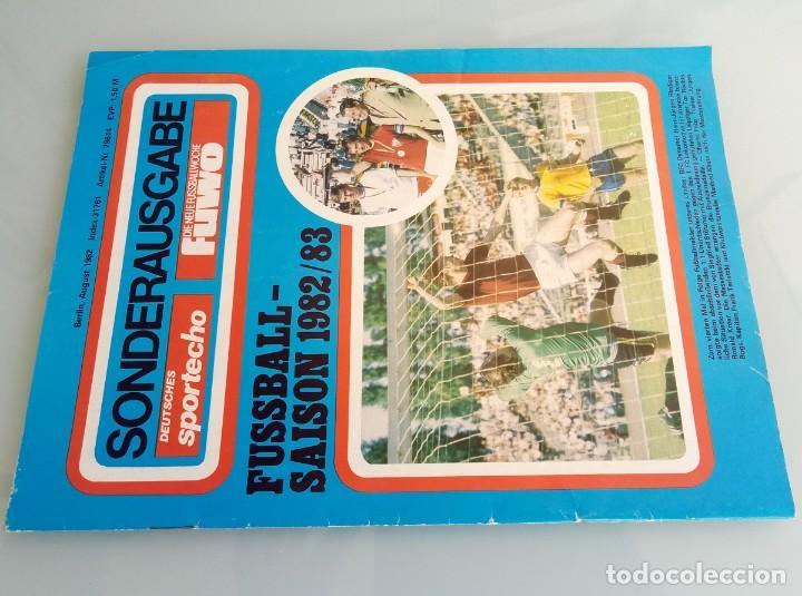 Coleccionismo deportivo: DIE NEUE FUSSBALLWOCHE (FUWO) - SONDERAUSGABE 1982/1983.# - Foto 2 - 194372700