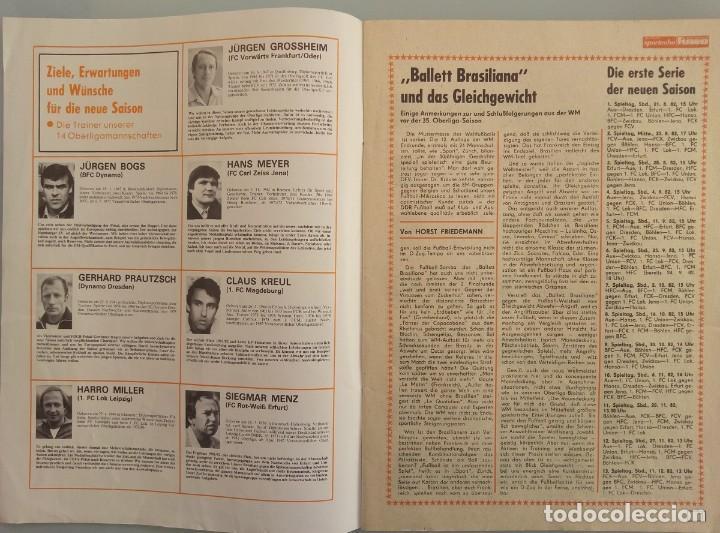 Coleccionismo deportivo: DIE NEUE FUSSBALLWOCHE (FUWO) - SONDERAUSGABE 1982/1983.# - Foto 3 - 194372700