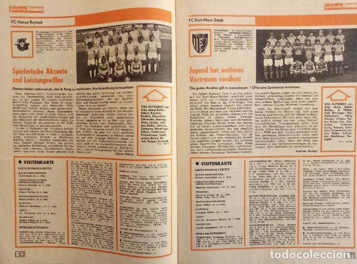 Coleccionismo deportivo: DIE NEUE FUSSBALLWOCHE (FUWO) - SONDERAUSGABE 1982/1983.# - Foto 4 - 194372700