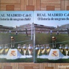 Coleccionismo deportivo: HISTORIA DE UN GRAN CLUB - REAL MADRID - 2 TOMOS. Lote 157933398