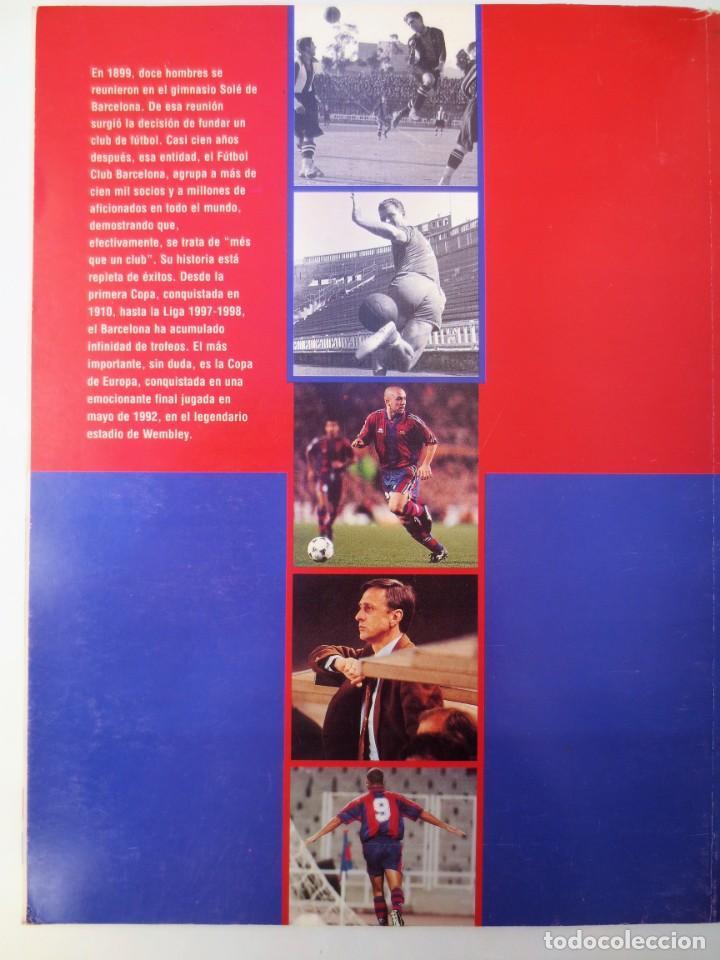 Coleccionismo deportivo: EL SIGLO DEL BARÇA - 100 AÑOS DE IMÁGENES - FC BARCELONA - LA VANGUARDIA - Foto 2 - 157937070