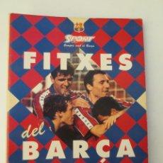 Coleccionismo deportivo: LIBRO DE FITXES DEL BARÇA - COMPLETO . Lote 157939222