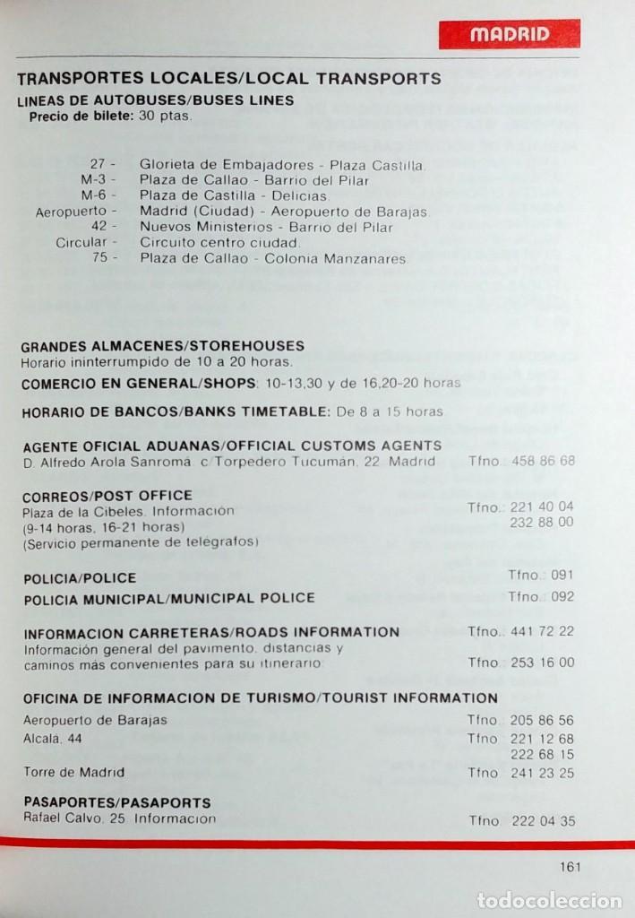Coleccionismo deportivo: MANUAL DEL INFORMADOR RTV. MADRID : GRUPO OPERATIVO DE RTVE MUNDIAL 82, 1982. - Foto 4 - 158086714
