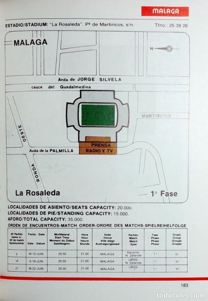 Coleccionismo deportivo: MANUAL DEL INFORMADOR RTV. MADRID : GRUPO OPERATIVO DE RTVE MUNDIAL 82, 1982. - Foto 5 - 158086714