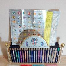 Coleccionismo deportivo: MUEBLE BIBLIOTECA SUPER DINÁMICO FÚTBOL CON 21 HUECOS COMPLETO DE 1971-1995-LEVANTE UD-CON 55 TOMOS. Lote 158619018
