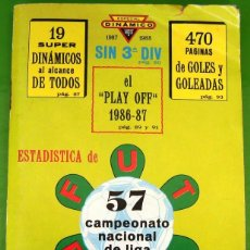 Coleccionismo deportivo: SUPER DINAMICO 1987-1988, ESTADISTICA DE FUTBOL. Lote 159888370