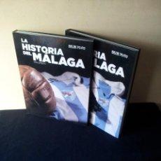 Coleccionismo deportivo: LA HISTORIA DEL MALAGA - 2 TOMOS - SUR 75 AÑOS CONTIGO - AÑO 2013. Lote 160198250