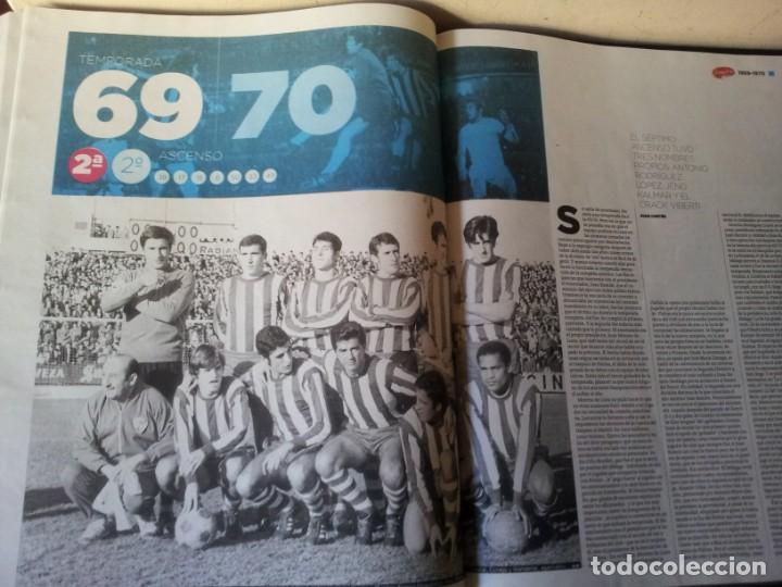 Coleccionismo deportivo: LA HISTORIA DEL MALAGA - 2 TOMOS - SUR 75 AÑOS CONTIGO - AÑO 2013 - Foto 6 - 160198250