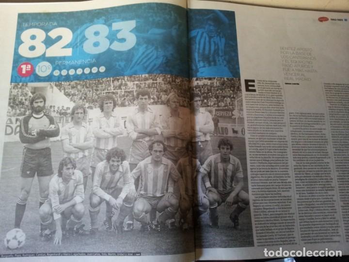 Coleccionismo deportivo: LA HISTORIA DEL MALAGA - 2 TOMOS - SUR 75 AÑOS CONTIGO - AÑO 2013 - Foto 9 - 160198250