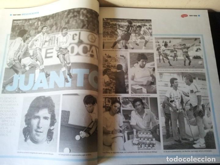 Coleccionismo deportivo: LA HISTORIA DEL MALAGA - 2 TOMOS - SUR 75 AÑOS CONTIGO - AÑO 2013 - Foto 10 - 160198250