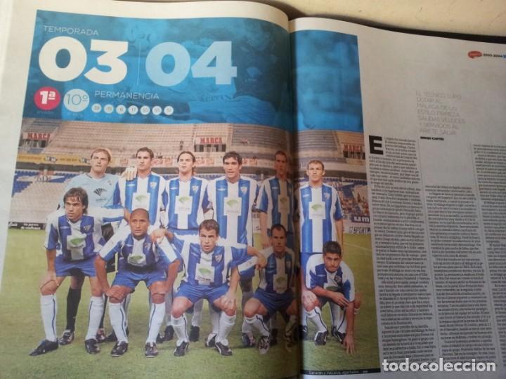 Coleccionismo deportivo: LA HISTORIA DEL MALAGA - 2 TOMOS - SUR 75 AÑOS CONTIGO - AÑO 2013 - Foto 11 - 160198250