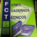 Coleccionismo deportivo: FUTBOL CUADERNOS TECNICOS Nº3. Lote 160429974