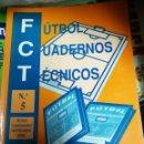 Coleccionismo deportivo: FUTBOL CUADERNOS TECNICOS Nº5. Lote 160429998