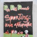 Coleccionismo deportivo: SPORTING: UNA ALTERNATIVA DE PODER. PEDRO PABLO PARRADO. AÑO 1979. REAL SPORTING DE GIJON. 93 PAGINA. Lote 160457794