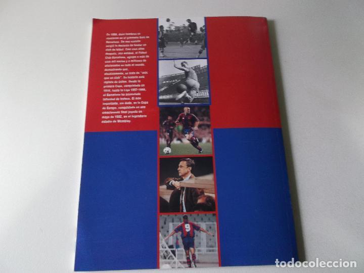 Coleccionismo deportivo: BARCA, EL SIGLO DEL BARÇA - F.C.BARCELONA - 100 AÑOS DE IMAGENES - LA VANGUARDIA 135 PAG. RUSTICA - Foto 2 - 161697946