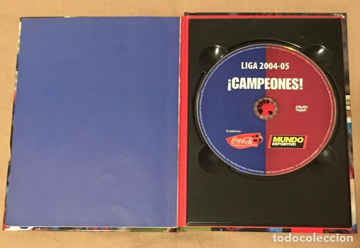 Coleccionismo deportivo: Libro CD Barça Campeón liga 2004-5 - Foto 2 - 161837776