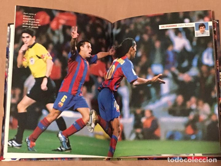 Coleccionismo deportivo: Libro CD Barça Campeón liga 2004-5 - Foto 3 - 161837776