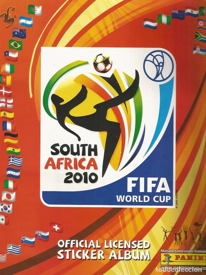 Coleccionismo deportivo: ALBUM PANINI. - FIFA WORLD CUP SOUTH AFRICA 2010 - Col. Completa / Complete Col.# - Foto 2 - 148410728