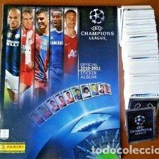 Coleccionismo deportivo: ALBUM PANINI. - UEFA CHAMPIONS LEAGUE 2010/2011 - ALBUM COMPLETO / COMPLETE COLLECTION! #. Lote 121042531