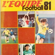 Coleccionismo deportivo: LES CAHIERS DE L'EQUIPE. - FOOTBALL 81- #. Lote 164788802