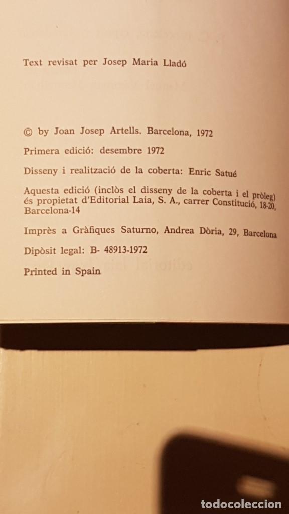 Coleccionismo deportivo: BARÇA BARÇA BARÇA JOAN JOSEP ARTELLS LES EINES LAIA 1972 PRÒLEG VAZQUEZ MONTALBAN - Foto 4 - 164836866