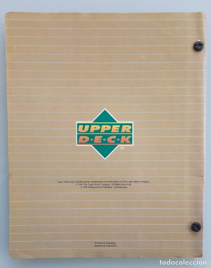 Coleccionismo deportivo: TRADING CARDS UPPER-DECK. - FÚTBOL ARGENTINO CAMPEONATO APERTURA'95- . # - Foto 2 - 164864414