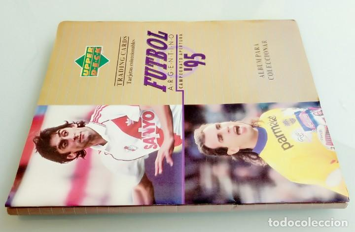 Coleccionismo deportivo: TRADING CARDS UPPER-DECK. - FÚTBOL ARGENTINO CAMPEONATO APERTURA'95- . # - Foto 3 - 164864414