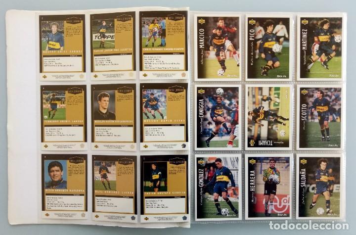 Coleccionismo deportivo: TRADING CARDS UPPER-DECK. - FÚTBOL ARGENTINO CAMPEONATO APERTURA'95- . # - Foto 4 - 164864414