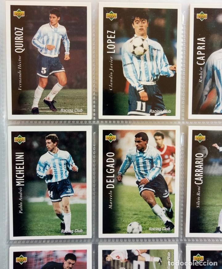 Coleccionismo deportivo: TRADING CARDS UPPER-DECK. - FÚTBOL ARGENTINO CAMPEONATO APERTURA'95- . # - Foto 5 - 164864414