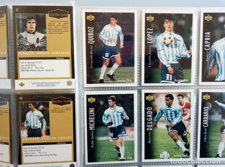 Coleccionismo deportivo: TRADING CARDS UPPER-DECK. - FÚTBOL ARGENTINO CAMPEONATO APERTURA'95- . # - Foto 6 - 164864414