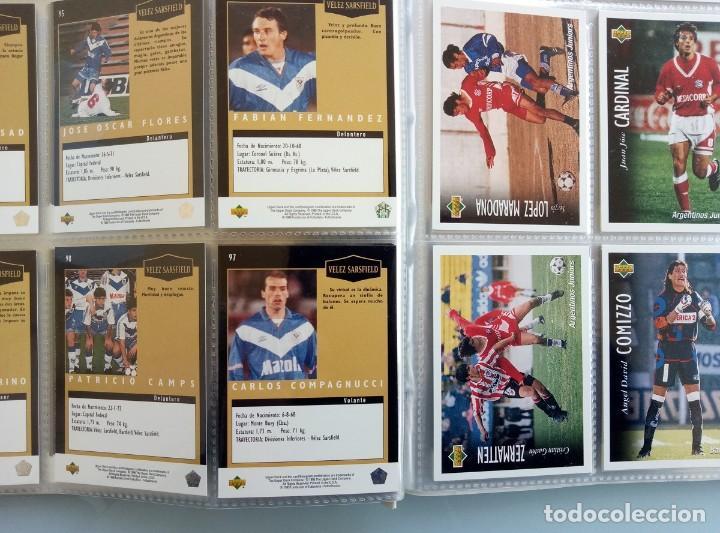 Coleccionismo deportivo: TRADING CARDS UPPER-DECK. - FÚTBOL ARGENTINO CAMPEONATO APERTURA'95- . # - Foto 7 - 164864414