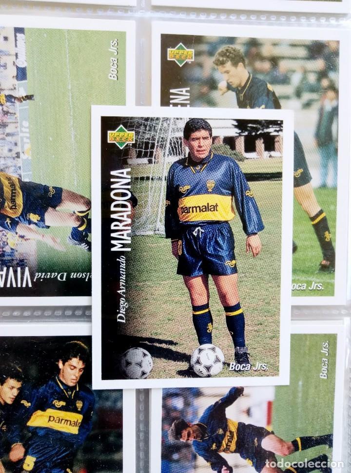 Coleccionismo deportivo: TRADING CARDS UPPER-DECK. - FÚTBOL ARGENTINO CAMPEONATO APERTURA'95- . # - Foto 8 - 164864414