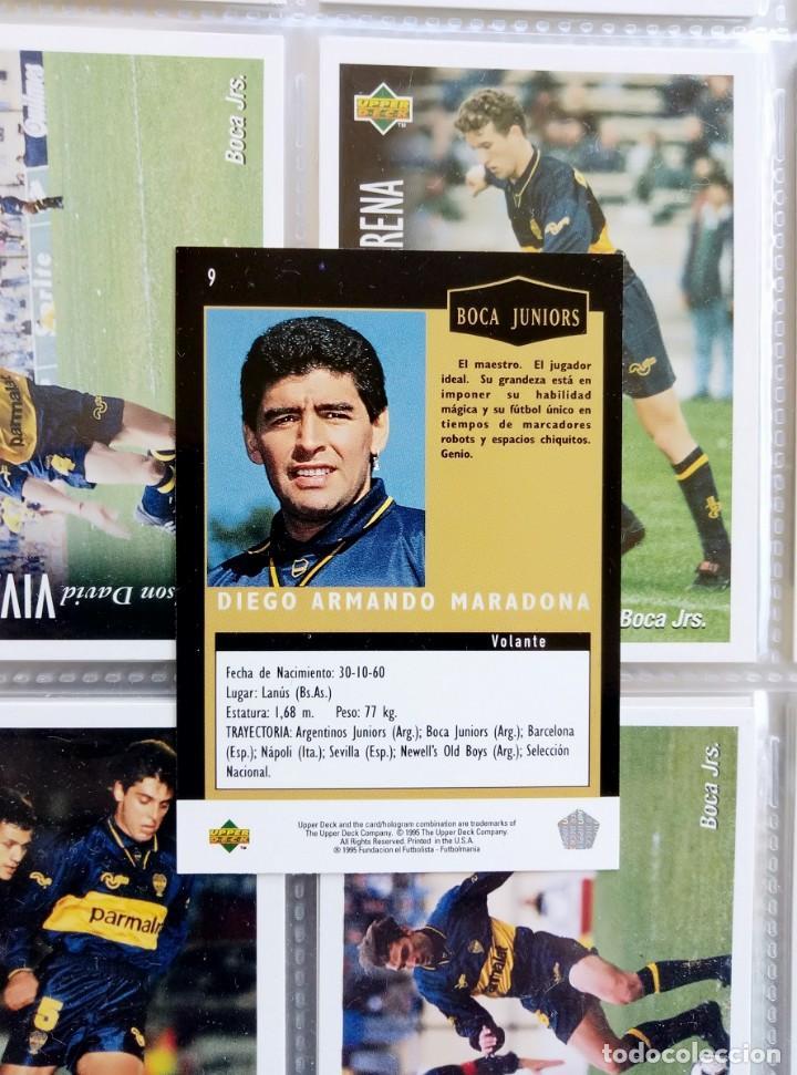 Coleccionismo deportivo: TRADING CARDS UPPER-DECK. - FÚTBOL ARGENTINO CAMPEONATO APERTURA'95- . # - Foto 9 - 164864414
