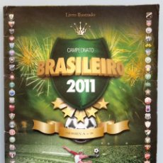 Coleccionismo deportivo: ALBUM PANINI. - CAMPEONATO BRASILEIRO 2011- #. Lote 164868650