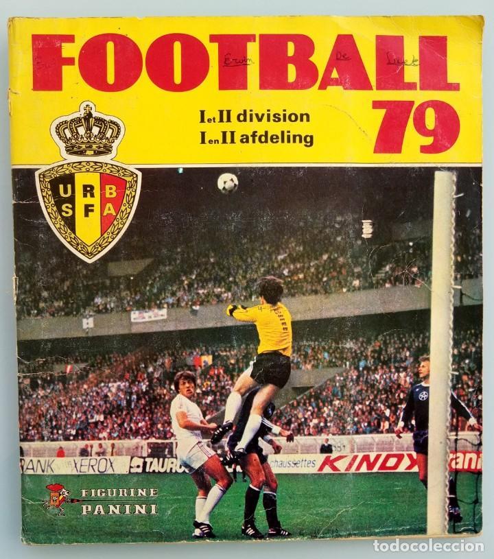 ALBUM PANINI. - FOOTBALL 79 - # (Coleccionismo Deportivo - Libros de Fútbol)