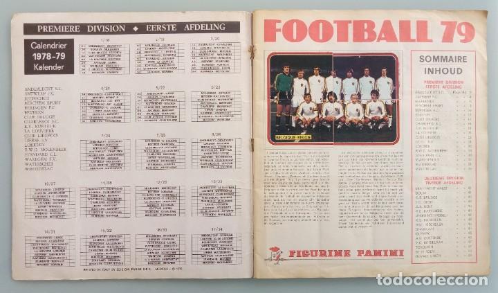 Coleccionismo deportivo: ALBUM PANINI. - FOOTBALL 79 - # - Foto 4 - 165204218