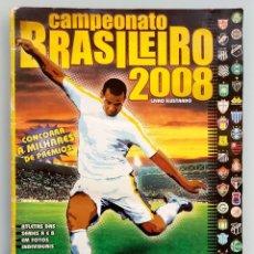 Coleccionismo deportivo: ALBUM PANINI. - CAMPEONATO BRASILEIRO 2008 - #. Lote 165207850