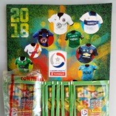 Coleccionismo deportivo: ALBUM PANINI. - CAMPEONATO NACIONAL SCOTIABANK 2018 + 50 UNOPENED BAGS - #. Lote 165456842