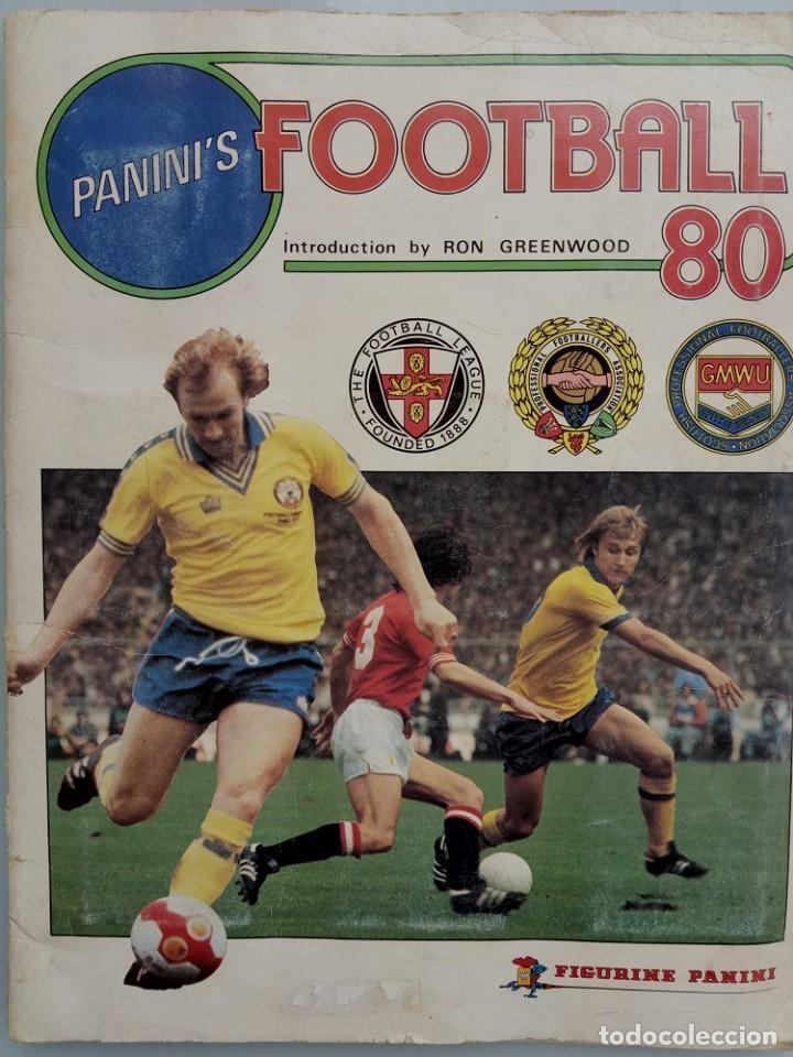 ALBUM PANINI. - FOOTBALL 80 - # (Coleccionismo Deportivo - Libros de Fútbol)