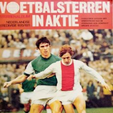 Coleccionismo deportivo: VANDERHOUT. - VOETBALSTERREN IN AKTIE. NEDERLANDSE EREDIVISIE 1970/1971 - #. Lote 166020522