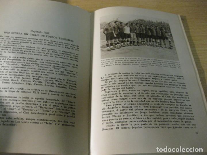 Coleccionismo deportivo: libro cincuenta años del futbol club barcelona barça bodas oro 1949 - Foto 10 - 166048062