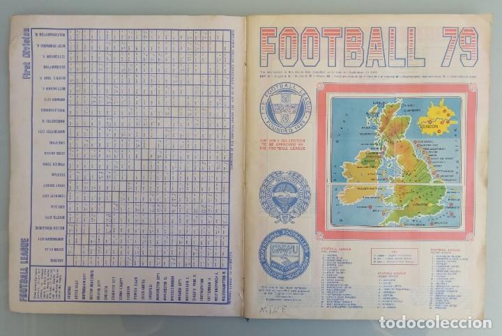 Coleccionismo deportivo: ALBUM PANINI. - FOOTBALL 79 - # - Foto 3 - 166097194